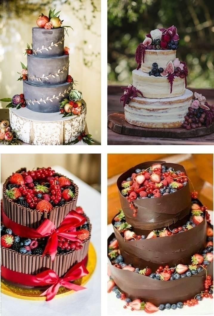 FRUIT BASED WEDDING CAKES
