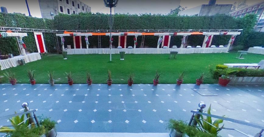 C P Palace Khandari Agra - Banquet Hall
