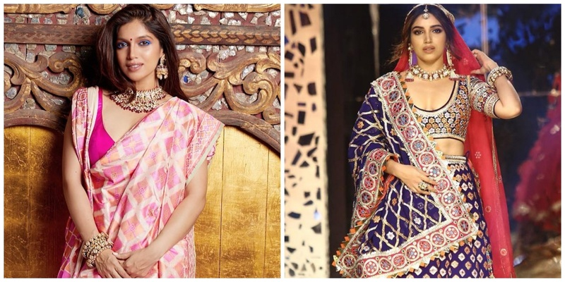 Elegant Ethnic Gowns for Wedding Goals Bhumi Pednekar Gave us