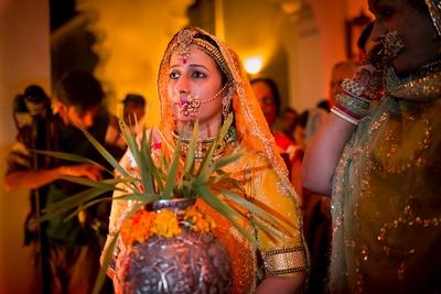 Traditional regal rajwaadi wedding ceremony