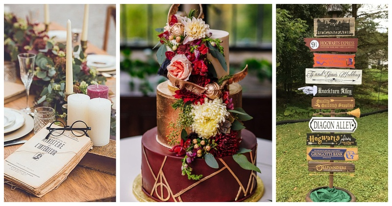 7 Ways to Ace the Harry Potter Themed Wedding