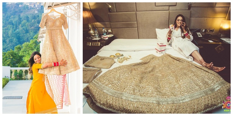 10 super cool ways to flaunt your lehenga before walking down the aisle!
