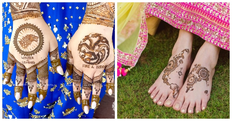 10 Brides who aced the bridal mehendi game with personal customisation!