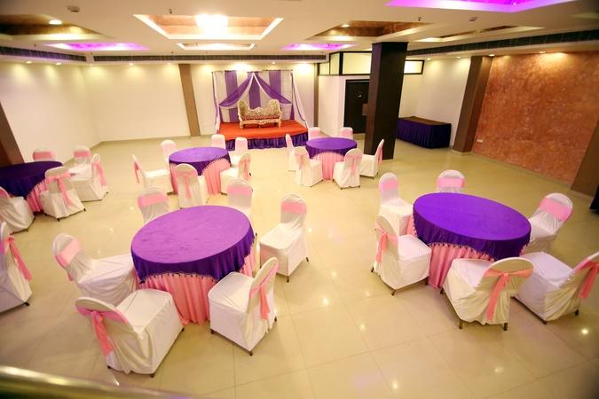 Hotel Rousha Inn Sahibabad Ghaziabad - Banquet Hall