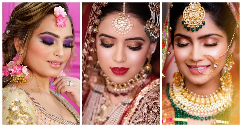 20 Bridal Makeup Looks For Your 2019 Wedding