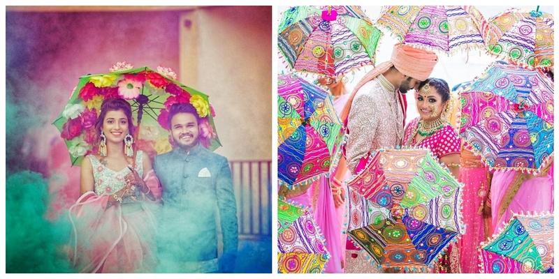Umbrellas and Parasols – The latest Indian wedding craze!