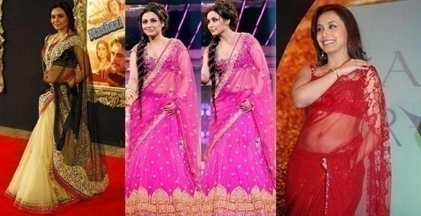 Gorgeous in a Beautiful Sheer Saree