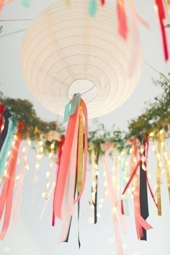 Watercolor Wedding Decorations