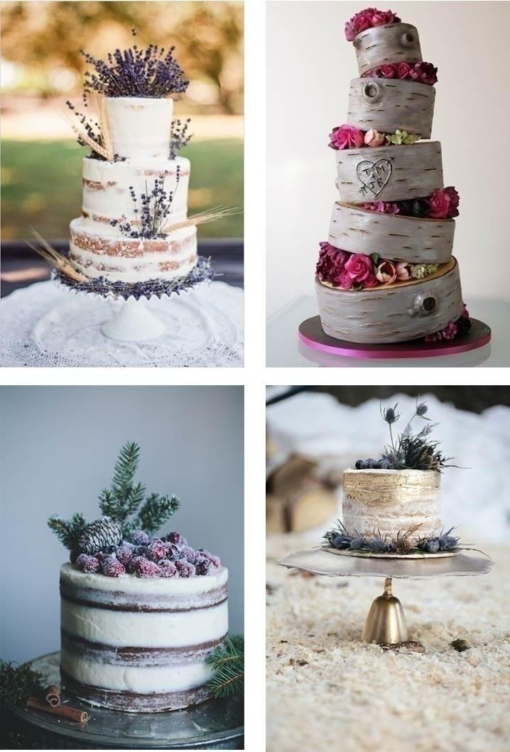 RUSTIC-CHIC WEDDING CAKES