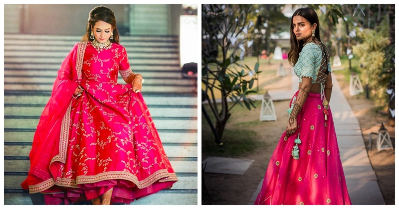 7 Brides Who Rocked the Neon Look During Their Wedding Celebrations