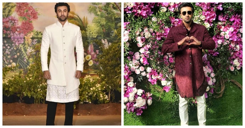 6 Times Birthday Boy Ranbir Kapoor Set Groomswear Goals