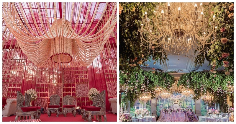 10 Chandelier ideas that you should consider to up your wedding decor game!