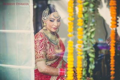 Sabyasachi bride.
