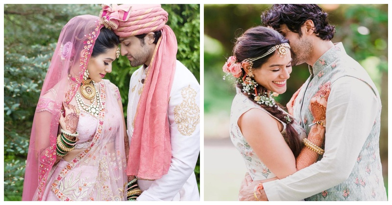 This bride's completely personalized wedding outfits and the story behind is right out of a fairytale!