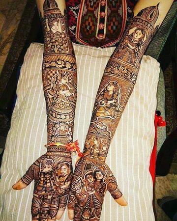Puja Mehendi Art | Kolkata | Mehendi Artists