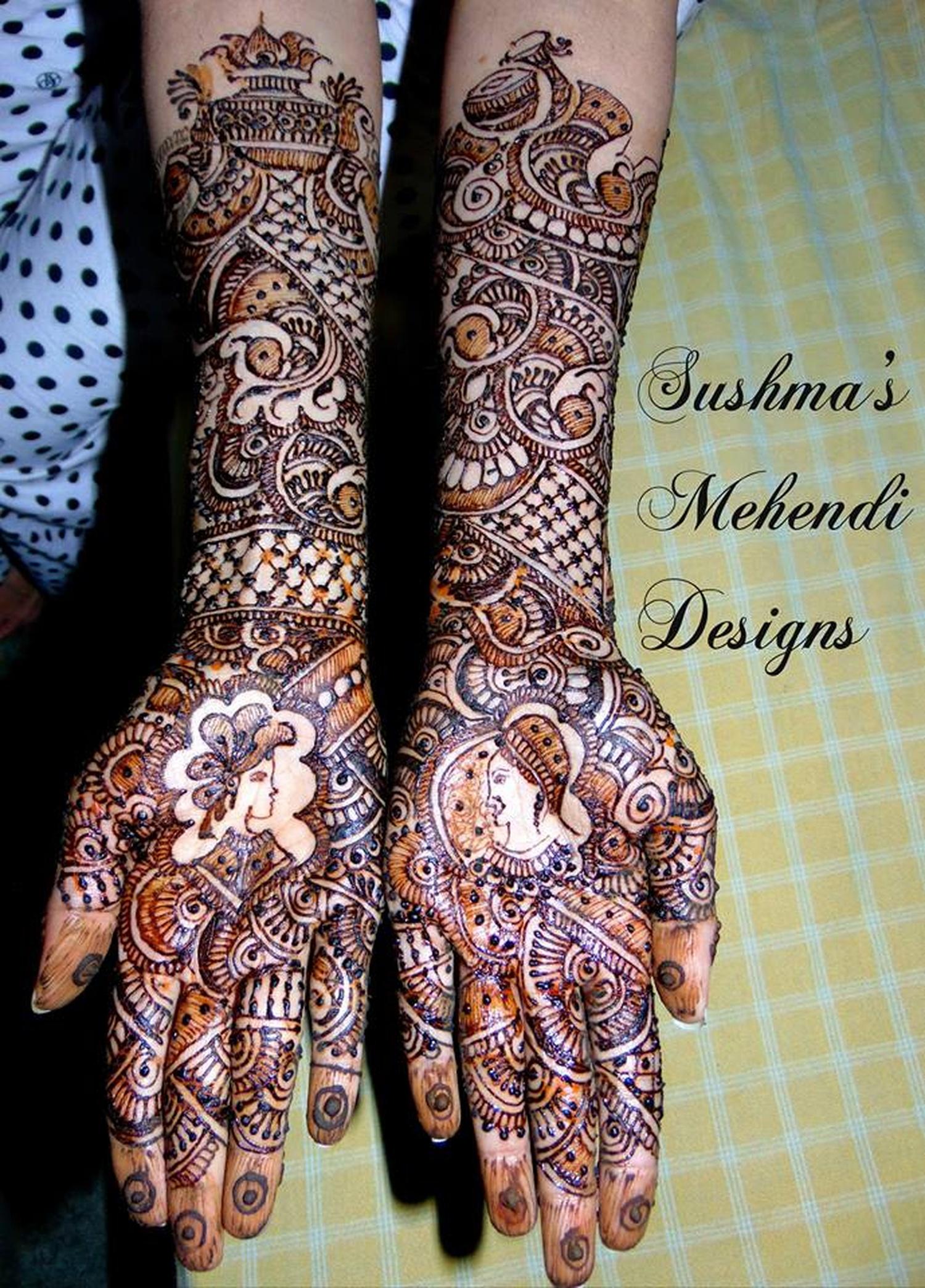Mehndi Designs Jobs In Hyderabad : Sushma s mehendi design bridal mehndi artist in dilsukh