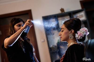 Bridal Make-up for the wedding ceremony