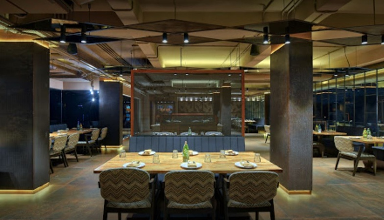 Bawarchee Restaurant Thaltej Ahmedabad - Banquet Hall