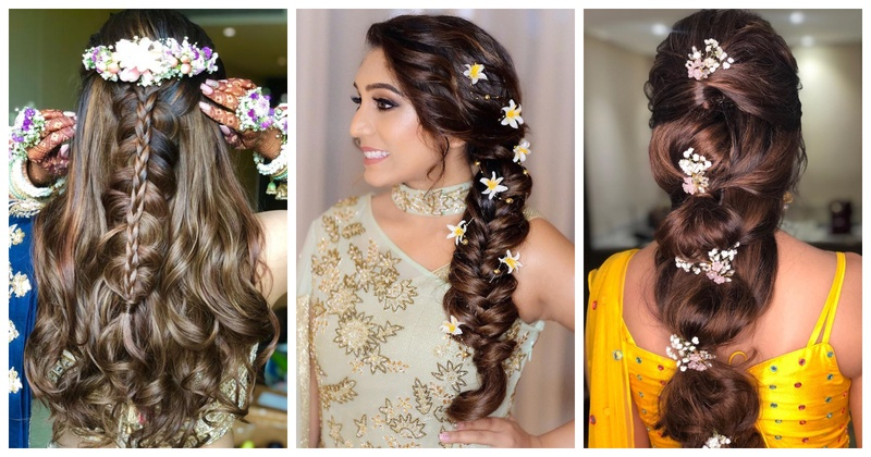20 Hairstyles For Lehenga You Can Try On Your Wedding Day Blog