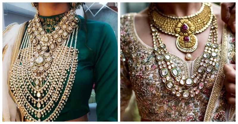 Trending Neckpieces that you have to checkout for your 2019 wedding!