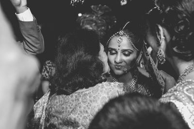 Vidaai Ceremony beautifully captured by Art Capture Productions.