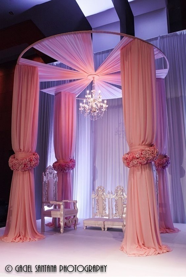Check out these instagram worthy wedding dcor drapes ideas now blog think pink junglespirit