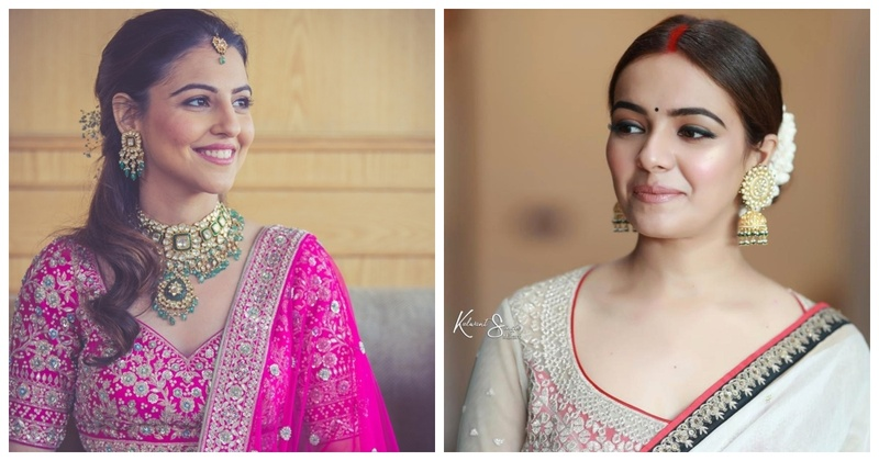 10 Brides who aced their bridal looks with minimal makeup!