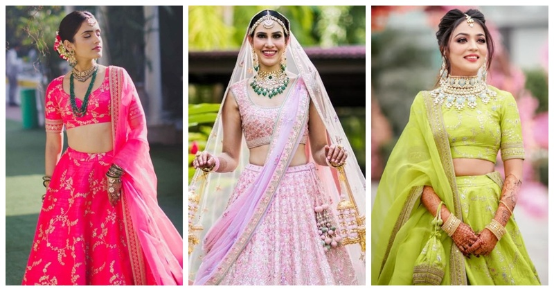 10 must-have lightweight bridal lehenga designs for a minimalist bride!