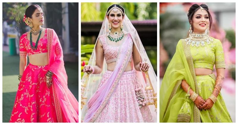 10 must-have lightweight bridal lehenga designs for a minimalist bride!