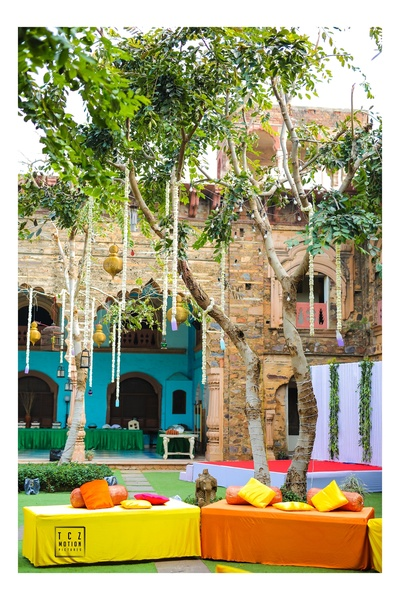 colourful and bright decor ideas for the mehendi ceremony