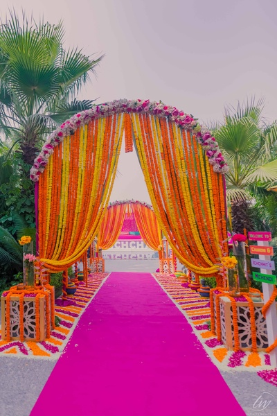 Such a colourful entry!