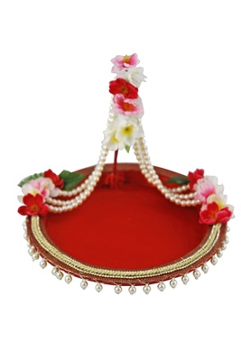 Floral Peral Hanging Platter- Small