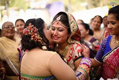 Emotional vidaai ceremony
