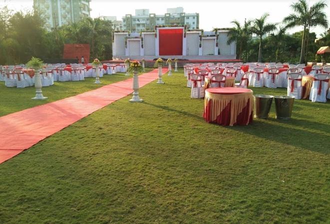 Nivrutti Lawns Ravet Pune - Banquet Hall