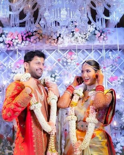 A Grand Celebrity Intimate Wedding Amidst Lockdown: Actor Nithiin Weds Shalini Kandukuri