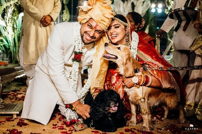 Sushant & Pratha Mumbai : 'When best friends turned lovers walked down the aisle, sustainable style'