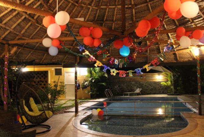 Bodhiwoods Resort Mahabalipuram Chennai - Banquet Hall