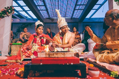 Wedding ceremony held at The Grand, Vasant kunj, Delhi.