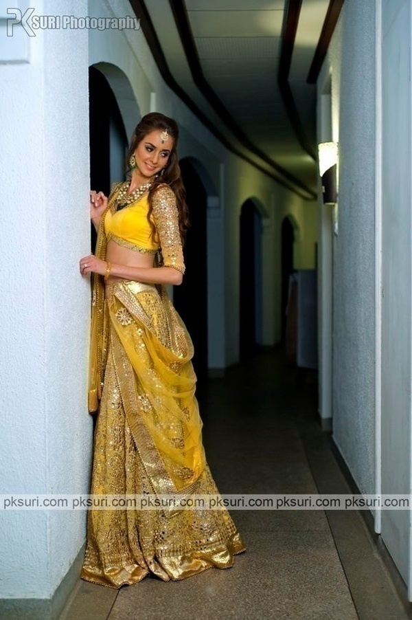Canary Yellow Sangeet