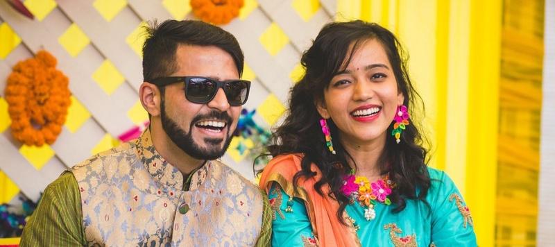Yash & Ritika Delhi : Colourful decor, adorable couple and lots of fun – a magical wedding indeed!