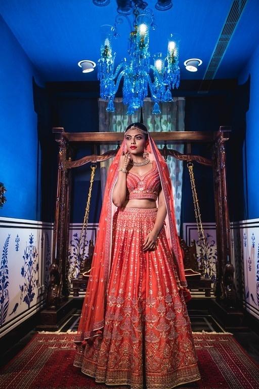Wedding look 1 :