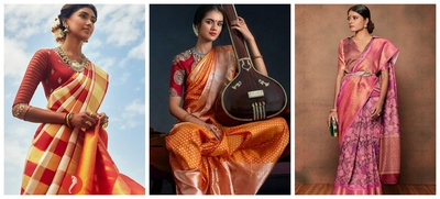 25 Kanjeevaram Sarees for Brides to Consider this Season!