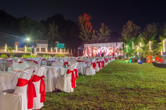 The Grand Courtyard Cudnem Goa - Wedding Lawn