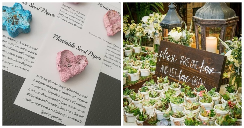 5 Eco-friendly Wedding Favours to Consider