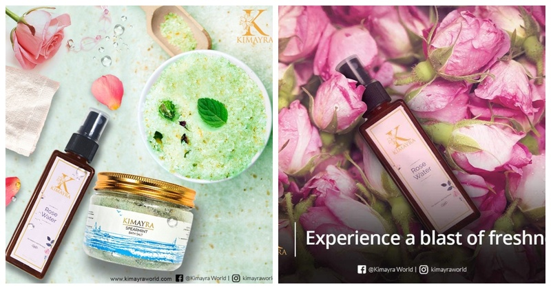 Pamper Yourself with Kimayra's Bath Salts and Rose Water