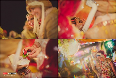 Indian wedding rituals beautifully captured by Reels and Frames