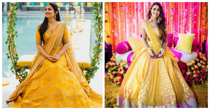 15 Brides who wore a Yellow Lehenga for their Wedding and rocked it!