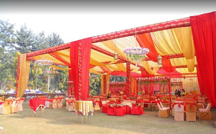 Joshi Farms Zirakpur Chandigarh - Banquet Hall