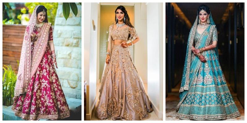 25 Latest lehenga designs 2018 for wedding