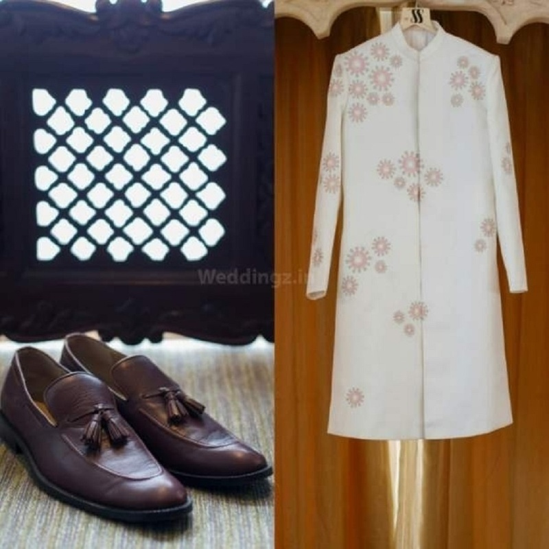 2. Groom's wedding outfit and attire: